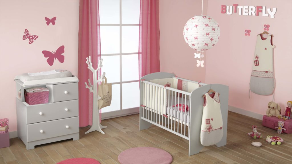 comment r nover la chambre de son b b petit prix nouslespapas. Black Bedroom Furniture Sets. Home Design Ideas