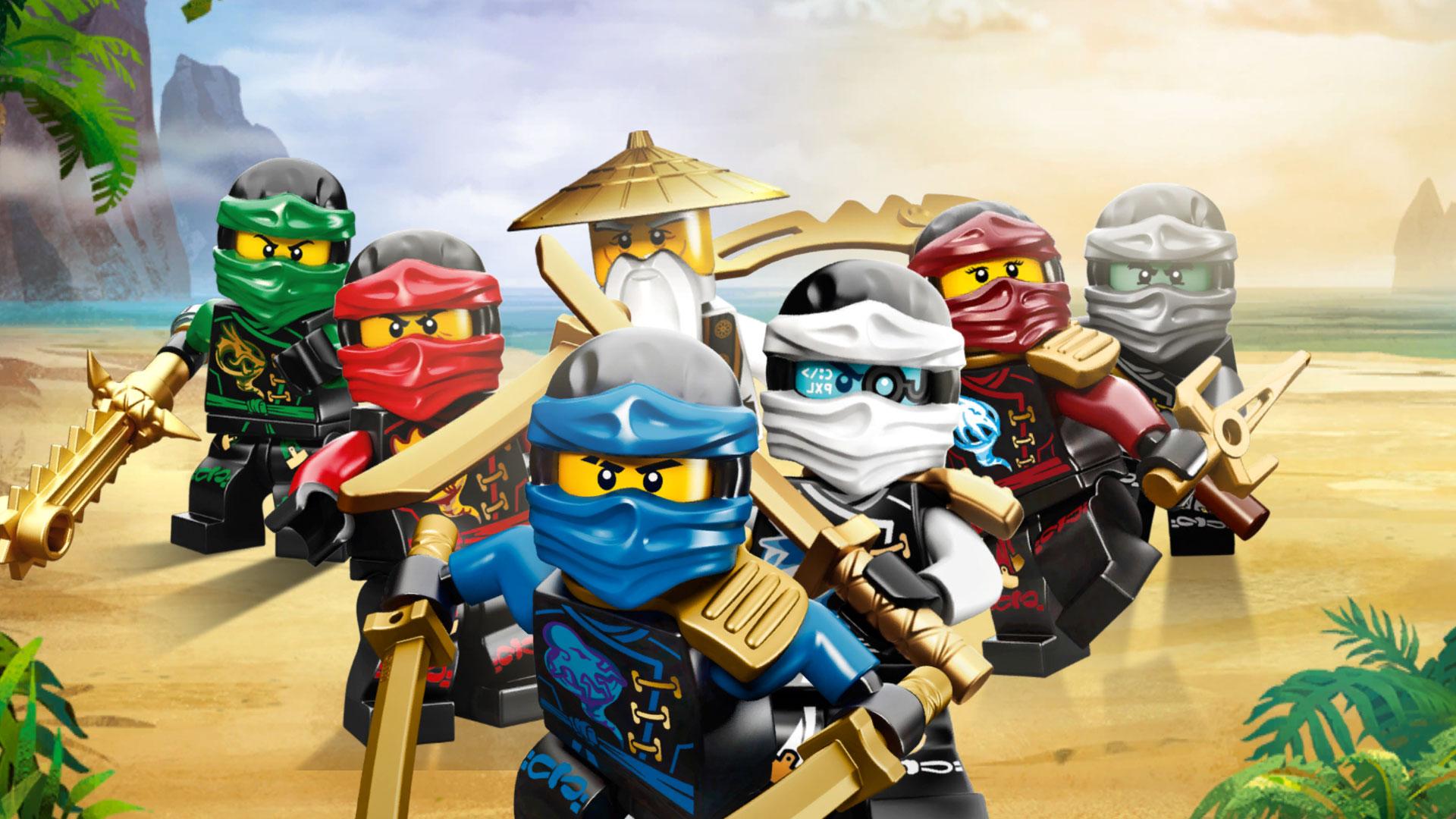 Dessin animé ninjago